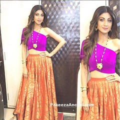 Shilpa Shetty in One Shoulder Top and Long Skirt by Payal Khandwala (shaf_prince) Tags: longskirt shilpashetty bollywoodactress silkskirt designerwear oneshoulderdress celebritydresses bollywoodsalwarkameez indianfashiondesigners bollywooddesignerdresses longskirtsforwomen actressinorangedresses actressinskirts