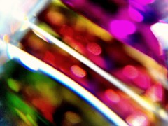 Glorious colors (Thad Zajdowicz) Tags: cameraphone light abstract blur color macro glass mobile vibrant cellphone prism vivid maryland turbo motorola bethesda android droid montgomerycounty zajdowicz