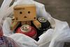 Danbo (Never A Dull Moment.) Tags: danbo danboard yotsuba amazoncojp cardbo boxman spraypaint graffiti nadm