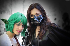 OKIMG_1299 (taymtaym) Tags: costumes girls girl comics costume yoda cosplay games lucca darth and cosplayer vader bender gender cosplayers costumi 2015 genderbender fenner luccacomicsgames2015 luccacomicsandgames2015