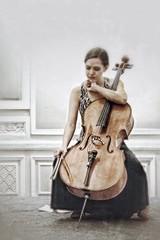regreso al amor........... (LaTur) Tags: musician woman dc cello dcist devreelewis
