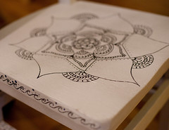 IMG_7270 (DIY Del Ray) Tags: chair zendoodle