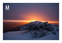 Explosion Nuclaire (photomontagne) Tags: sunshine hiver provence leverdesoleil ventoux montventoux canonphoto canonfrance