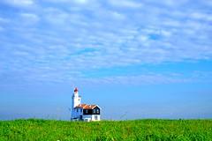 Paard van Marken (meneer_nl) Tags: lighthouse holland netherlands landscape vuurtoren marken ijsselmeer landschap zuiderzee hetpaardvanmarken fujixe2