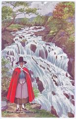 Welsh Maid (pepandtim) Tags: road old people london wales early suffolk postcard bangor 1954 lancashire nostalgia nostalgic scarborough homestead welsh dennis maid southport ipswich sons otley helmingham goozee 01081954 89wel99