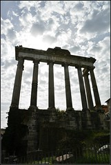 The Temple of Saturn (Davy Ellis) Tags: rome templeofsaturn theforum