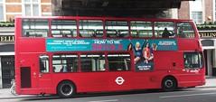 Abellio London 9063 on route 188 Waterloo  03/02/16. (Ledlon89) Tags: bus london buses transport londonbus tfl londonbuses centrallondon