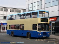 Bus Station Blues (5) (Cymru Coastliner) Tags: bus alexander busstation roadcar wrexham northwales 14993 leylandolympian sheffieldomnibus ghacoaches l603nos valetravel stegecoachinlincolnshire