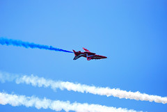 RED ARROWS @ D-DAY 70TH ANIVERSARY AT PORTSMOUTH (dale hartrick) Tags: nikon portsmouth aniversary dday redarrows 70th southsea d60 nikond60 dday70thaniversary