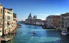 Isn't that a stunning view! (VillaRhapsody) Tags: venice italy water boats canal travels view venezia venedig grandcanal canalgrande challengeyouwinner cyunanimous
