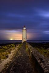 Port Fairy Light (Rodney Campbell) Tags: longexposure lighthouse clouds sunrise au australia victoria portfairy
