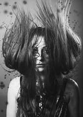 Witch sabrina (..norm../www.aucoindeloeil.com) Tags: white black art sex canon studio blackwhite noir witch femme dot blanc gril noirblanc 2016 femelle sorciere seyy wwwaucoindeloeilcom