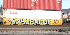 IVY LEAGUE, Byrd, Neenah, 28 Feb 16 (kkaf) Tags: graffiti byrd ivyleague neenah
