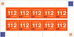 112 - European emercengy number (postcardlady1) Tags: stamps briefmarken