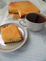 mannik-kusochek-s-chaem (Horosho.Gromko.) Tags: orange cooking cake baking   ibake   semolinacake
