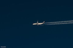 Quatar Airlines above Black Sea, Turkey (tarjangz) Tags: airplane flight quatar