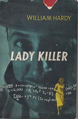 Lady Killer (54mge) Tags: fiction book crime novel dustjacket mathematicsprofessor