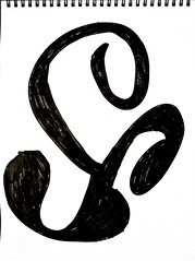 Triskelion Symbol (Thinker Pictures/Art) Tags: black ink symbol scan marker triskelion
