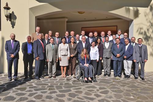 El gobernador, Javier Duarte de Ochoa, se reunió con delegados del Gobierno de la República