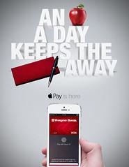 Apple Pay Ad (Justin Roach Work Stuff) Tags: advertising design graphicdesign bank batman scranton nepa brucewayne honesdale 570 waynebank applepay