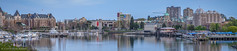 Pano: Inner Harbour 2014 Easter [3x1] (Cameron Knowlton) Tags: ocean panorama seascape canada water museum marina buildings boats hotel harbor nikon bc seascapes harbour dusk britishcolumbia pano panoramas parliament columbia victoria panoramic inner british empress legislature panos fairmont innerharbor empresshotel innerharbour parliamentbuildings d600 legislaturebuildings