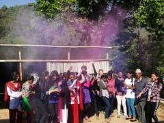 Coloring the environment (rukmini_foundation) Tags: nepal colors celebration holi didi mentoring