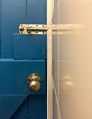 Door lock 85/366 (2) ( Georgie R) Tags: door sussex lock bolt devilsdyke