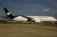 AeroMexico Boeing 787-8 (N967AM) (Michael Davis Photography) Tags: airplane photography am aviation flight jet boeing departure takeoff airliner aeromexico jetliner airside boeing787 n967am