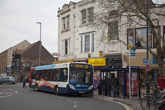 STH_042 (Stuart's Transport) Tags: uk bus portsmouth 23 e300 stagecoach singledeck 27560 enviro300 gx58gmz