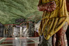 Konst i Stockholms t-bana (Ana >>> f o t o g r a f í a s) Tags: underground subway europa europe metro sweden stockholm schweden sverige scandinavia sthlm hdr estocolmo stoccolma suecia tunnelbana fused tbana kungsträdgården tunnelbanan photomatix escandinavia potd:country=es hdrworldsweden