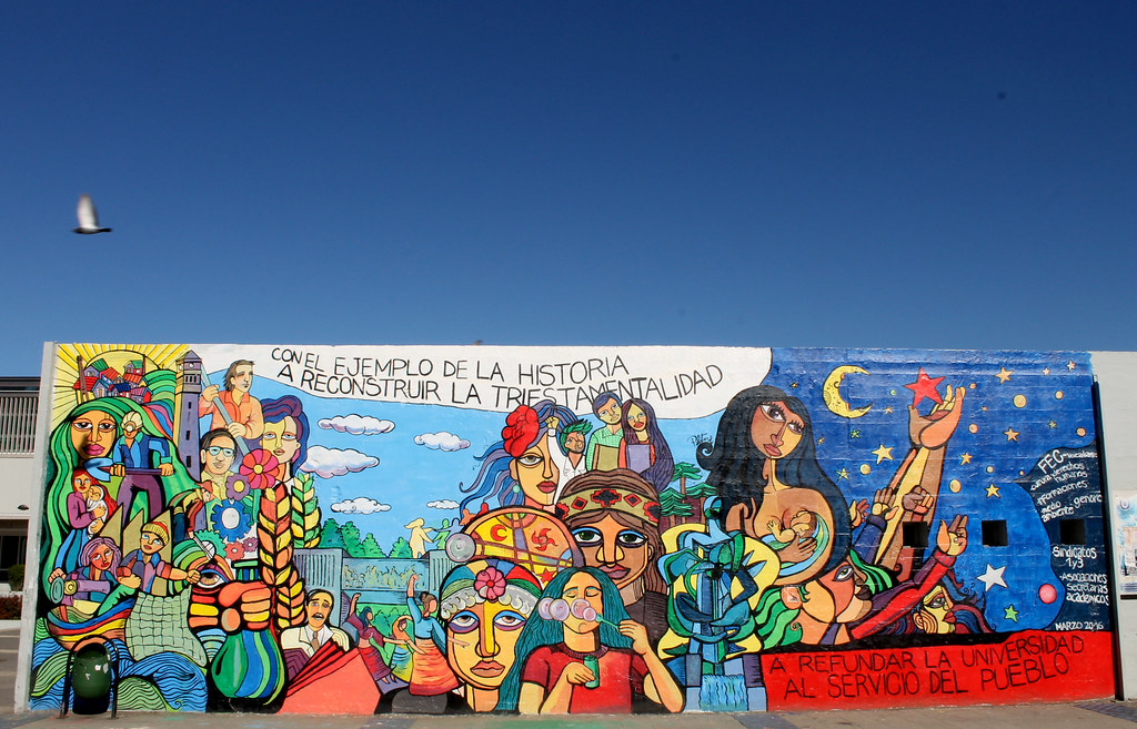 The World S Most Recently Posted Photos Of Mapuche And Mural