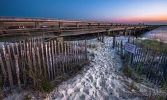 FB2016PS (will.mcgalliard) Tags: bridge sunset beach st sunrise work fishing nikon mask florida dune footprints d750 jacksonville after augustine fernandina luminosity 1635mm