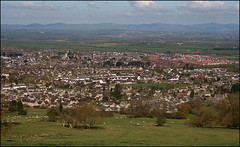 Bishop's Cleeve from Cleeve Hill (Canis Major) Tags: landscape 2000 cotswolds gloucestershire 500 5000 viewpoint 1000 highestpoint cleevehill bishopscleeve