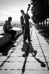 Play that old-school bass! (Originalni Digitalni) Tags: shadow blackandwhite art boys canon photography raw shadows bass walk band folklore dslr lightroom etnja fotografija umjetnost 60d slavonskibrod originalnidigitalni tomislavlai