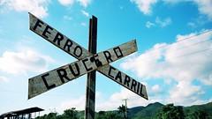 Train signal in Trinidad, Cuba (ARTtouchesART) Tags: latinamerica america train photography district cuba railway neighborhood american trinidad caribbean cuban signal neighbourhood filmphotography sanctispritus