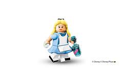 LEGO 71012 Disney Collectible Minifigures Alice (hello_bricks) Tags: ariel buzz lego stitch alice crochet peterpan disney mickey donald syndrome daisy minnie minifigs hook aladdin ursula incredible genie cheshirecat maleficent cmf indestructible minifigures malefique 71012 legodisney collectibleminifigures hellobricks