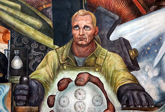 Rivera, Man Controller of the Universe (detail)