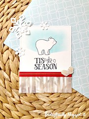 'tistheseason AEchristascard (fridayfinally) Tags: christmas blue trees brown holiday cute love handmade bears fringe noel card critters lovely pinecone merrychristmas celebrate polarbears twine vellum pinecones copic redandwhite christmascard lightblue tistheseason handmadecard softcolors copicmarkers distressink clearstamps cutebackground lawnfawn lawnfawnstamps cleanandsimplecard lawnfawnstamp lawnfawndies averyellestamps