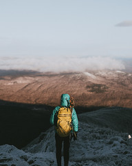 We Wait for the Sunrise (Brendan T Lynch) Tags: morning winter fall nature landscape outdoors newengland newhampshire whitemountains hike adventure mountians whitemountainnationalforest