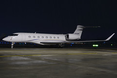 Private - Gulfstream G650 - N762MS (yak_40) Tags: private gulfstream zrh g650 gulfstreamg650 n762ms wef2016