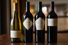 Cain Wines (EvanJawnson) Tags: arizona 50mm restaurant nikon wine bottles label wino fine foodies dining nikkor chandler grape finedining vino foodie wines niftyfifty d7100