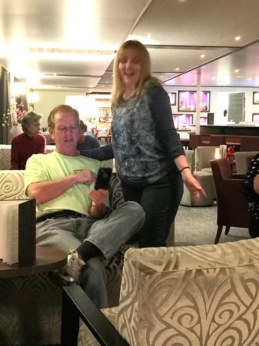 Line Dancing in Panorama Lounge