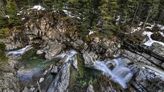 Cameron Creek (Len Langevin) Tags: canada mountains creek forest river rockies nikon rocky tokina alberta waterton 1116 d300s