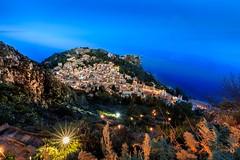 taormina (sverni) Tags: tramonto taormina sicilia messina jonio marepanorama