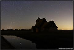 Church of Orion (seb a.k.a. panq) Tags: nightphotography reflection church night stars nightscape orion fairfield noctography sebastianbakajphotography