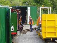 P1050735 (Hampton & Kempton Waterworks Railway.) Tags: diesel loop digger galaday 2015 darent modwagon colinswagon