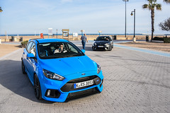 Ford Focus RS (Tony, M.) Tags: blue ford valencia spain focus double tony rs mulli