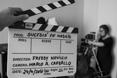 """Making of """"Sucedio en Madrid (A_Veintemillas) Tags: white cinema black blancoynegro blanco movie negro cine whiteblack rodando blackmagic grabando largometraje cinema4k sucedioenmadrid"""