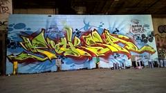 Moksa Ax Rk (Mocks 108) Tags: graffiti connecticut character ct kings ax mock rk krew ruthless mocks moksa reckin
