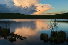 Thunder (Jakob Arnholtz) Tags: sunset cloud lake nature denmark evening spring natur danmark thunder solnedgang skumring forr odsherred veddinge veddingebakker arnholtz